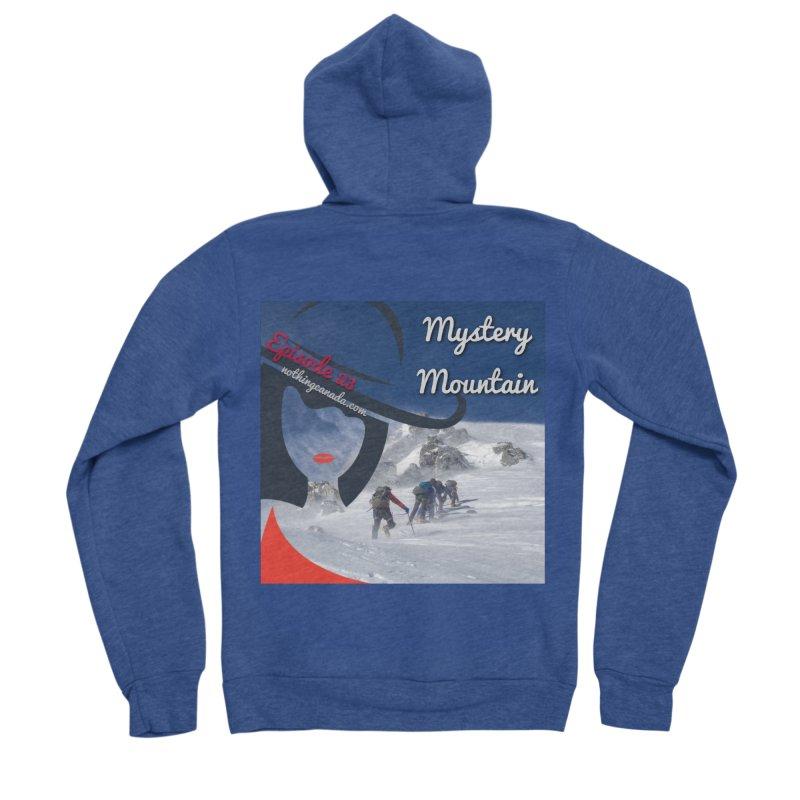 Mystery Mountain Women's Sponge Fleece Zip-Up Hoody by The Nothing Canada Souvenir Shop