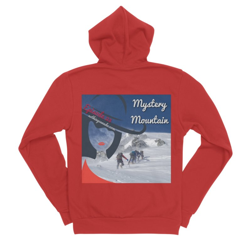Mystery Mountain Men's Zip-Up Hoody by The Nothing Canada Souvenir Shop