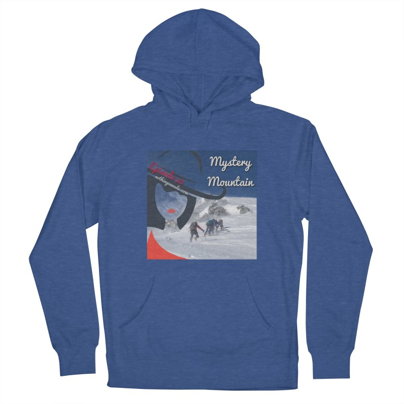 Mystery Mountain Men's French Terry Pullover Hoody by The Nothing Canada Souvenir Shop