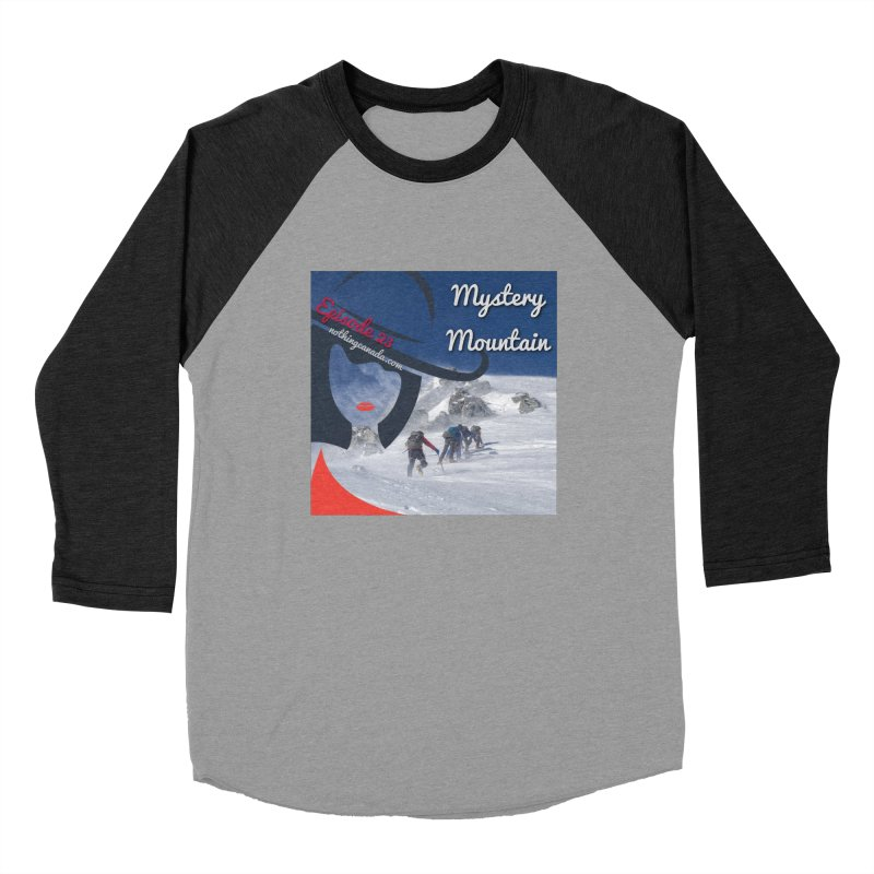 Mystery Mountain Men's Baseball Triblend Longsleeve T-Shirt by The Nothing Canada Souvenir Shop