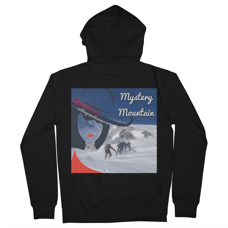 Mystery Mountain Women's French Terry Zip-Up Hoody by The Nothing Canada Souvenir Shop