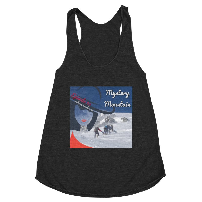 Mystery Mountain Women's Racerback Triblend Tank by The Nothing Canada Souvenir Shop