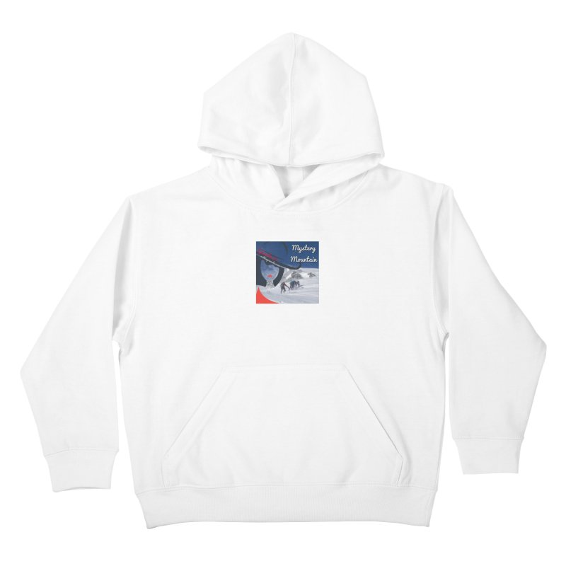 Mystery Mountain Kids Pullover Hoody by The Nothing Canada Souvenir Shop
