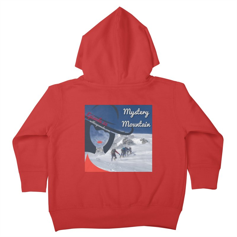 Mystery Mountain Kids Toddler Zip-Up Hoody by The Nothing Canada Souvenir Shop