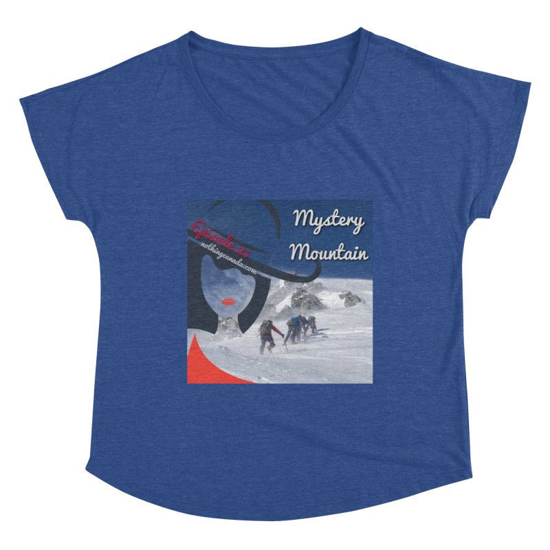 Mystery Mountain Women's Dolman Scoop Neck by The Nothing Canada Souvenir Shop