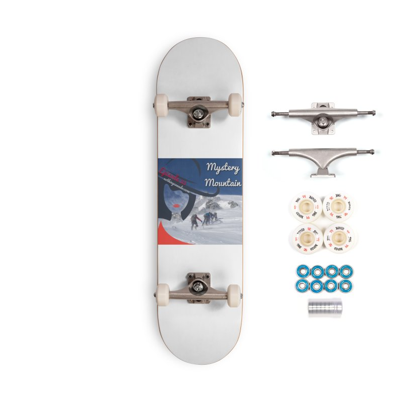 Mystery Mountain Accessories Complete - Premium Skateboard by The Nothing Canada Souvenir Shop