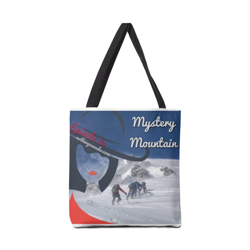 Mystery Mountain Accessories Tote Bag Bag by The Nothing Canada Souvenir Shop