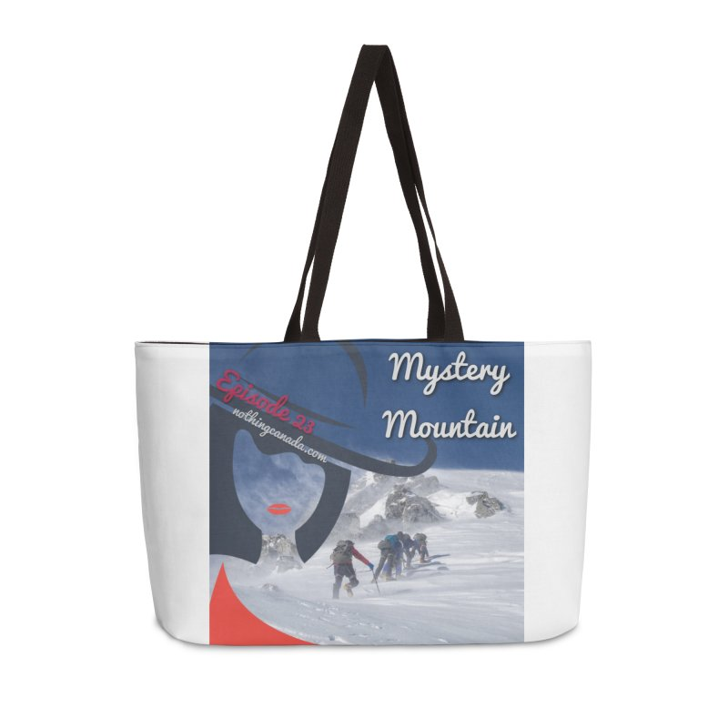 Mystery Mountain Accessories Weekender Bag Bag by The Nothing Canada Souvenir Shop