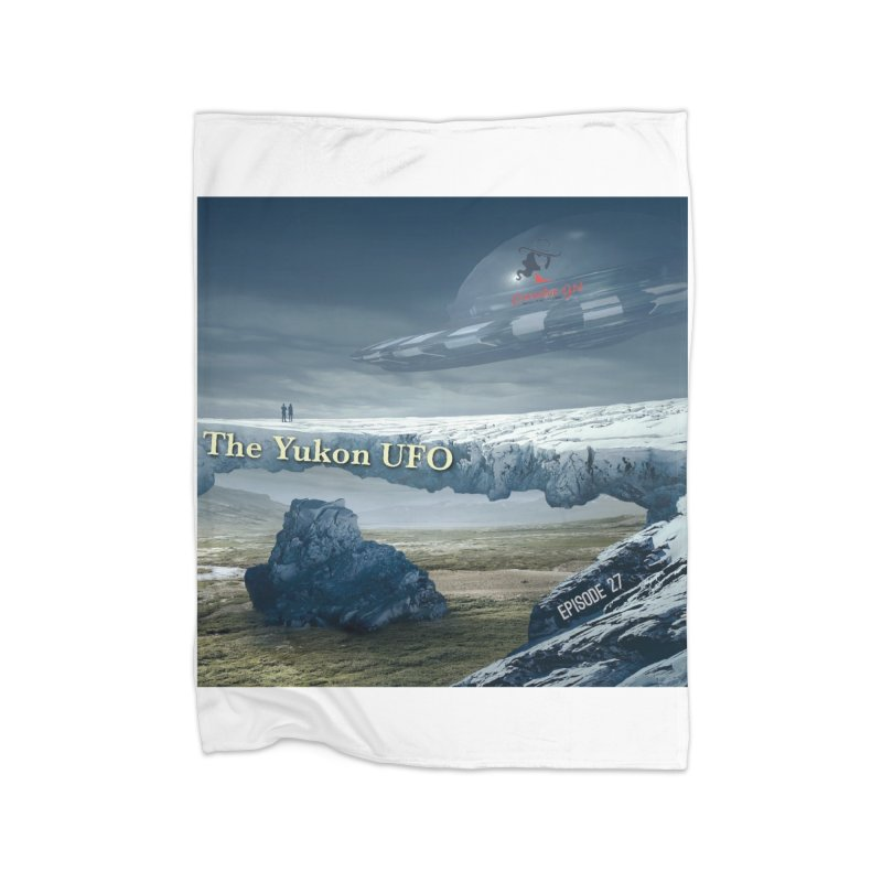 The Yukon UFO Home Blanket by The Nothing Canada Souvenir Shop