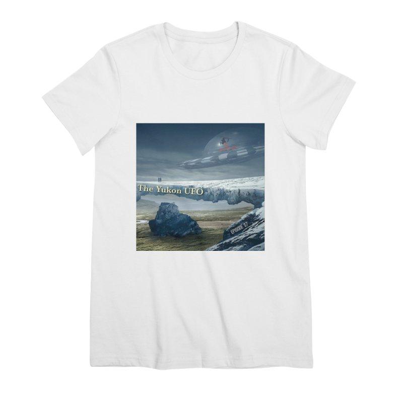 The Yukon UFO Women's Premium T-Shirt by The Nothing Canada Souvenir Shop