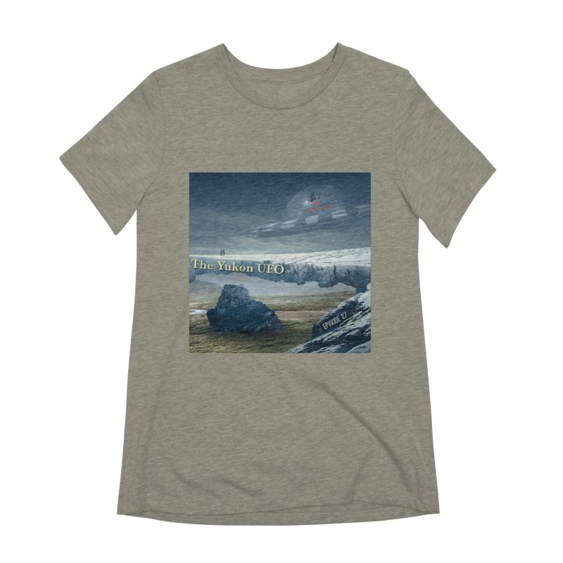 The Yukon UFO Women's Extra Soft T-Shirt by The Nothing Canada Souvenir Shop