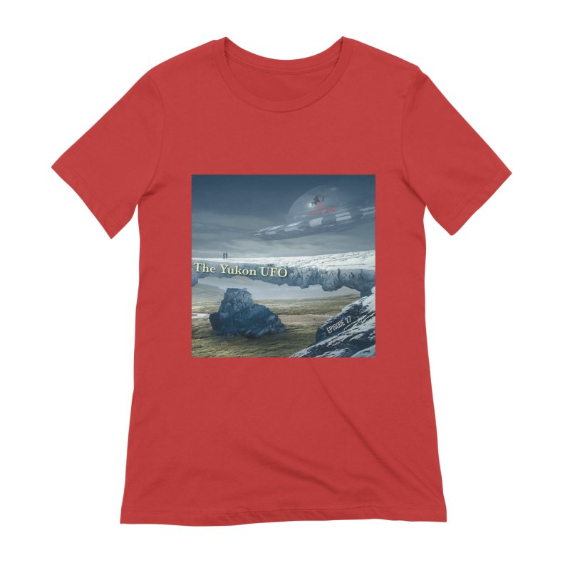The Yukon UFO Women's T-Shirt by The Nothing Canada Souvenir Shop