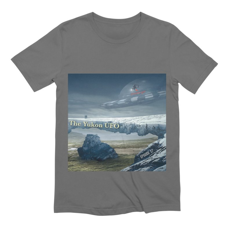 The Yukon UFO Men's Extra Soft T-Shirt by The Nothing Canada Souvenir Shop