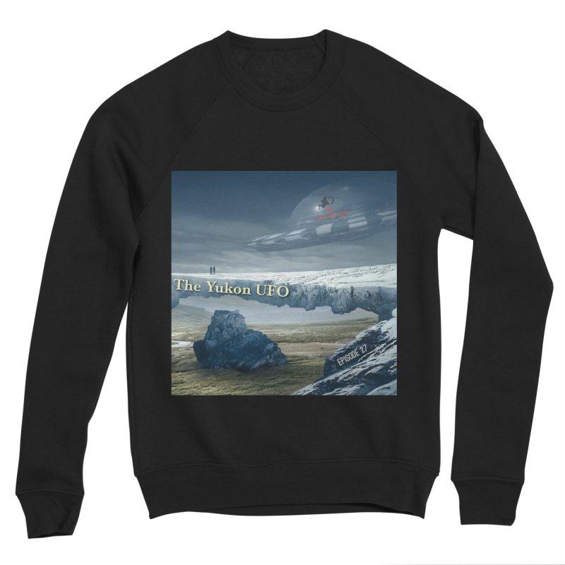 The Yukon UFO Men's Sponge Fleece Sweatshirt by The Nothing Canada Souvenir Shop