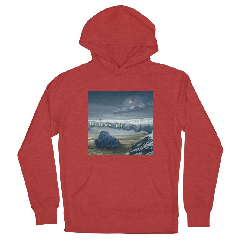 The Yukon UFO Women's French Terry Pullover Hoody by The Nothing Canada Souvenir Shop