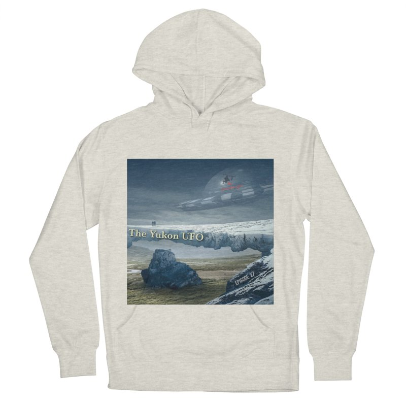 The Yukon UFO Men's French Terry Pullover Hoody by The Nothing Canada Souvenir Shop