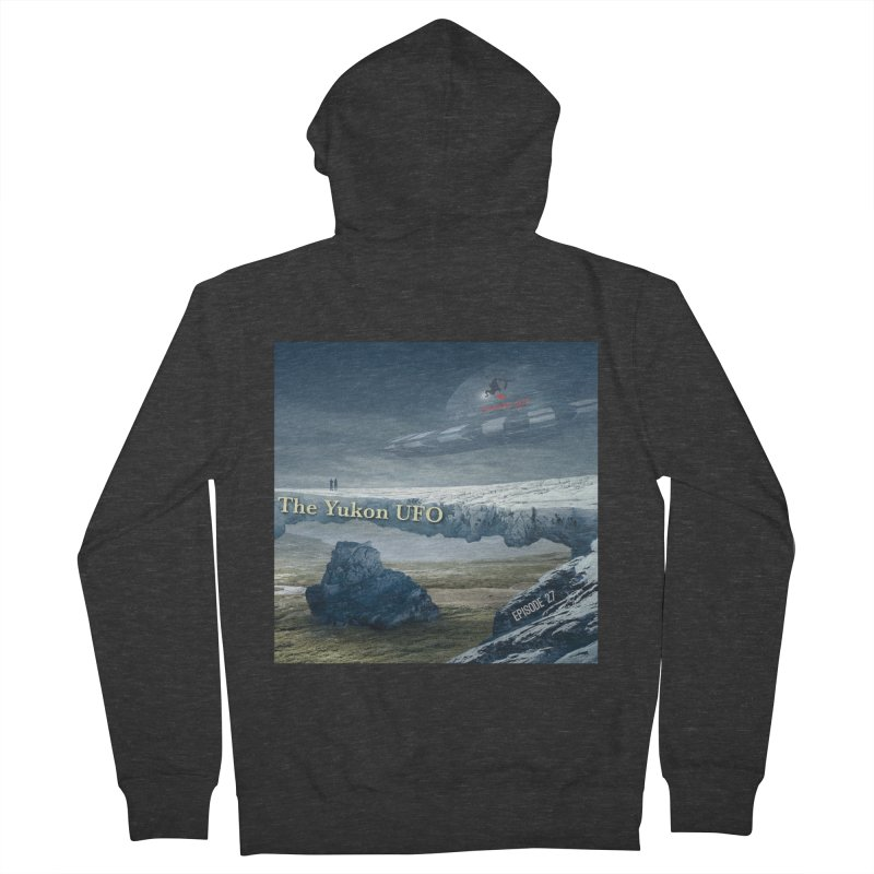 The Yukon UFO Women's French Terry Zip-Up Hoody by The Nothing Canada Souvenir Shop