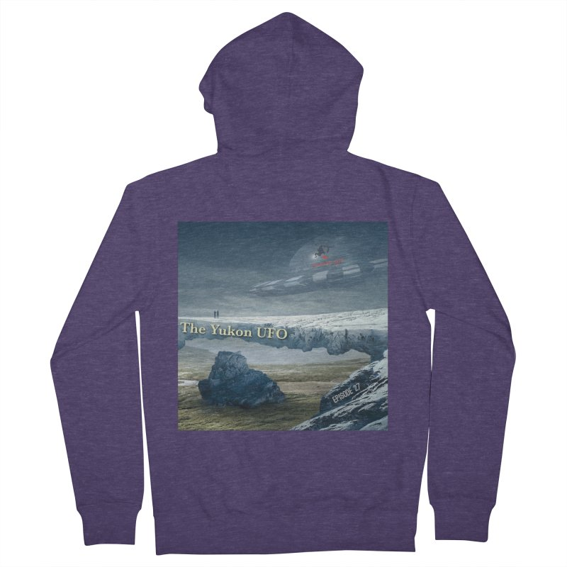 The Yukon UFO Men's French Terry Zip-Up Hoody by The Nothing Canada Souvenir Shop