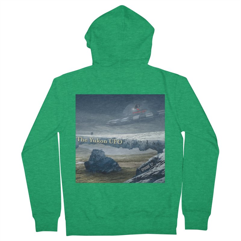 The Yukon UFO Men's Zip-Up Hoody by The Nothing Canada Souvenir Shop