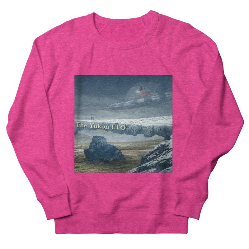 The Yukon UFO Women's French Terry Sweatshirt by The Nothing Canada Souvenir Shop