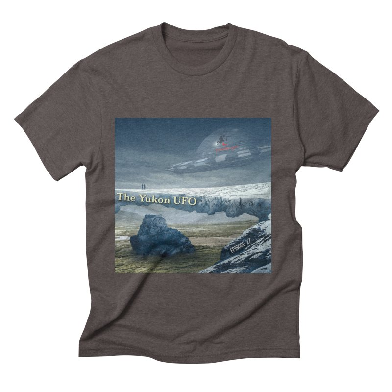 The Yukon UFO Men's Triblend T-Shirt by The Nothing Canada Souvenir Shop
