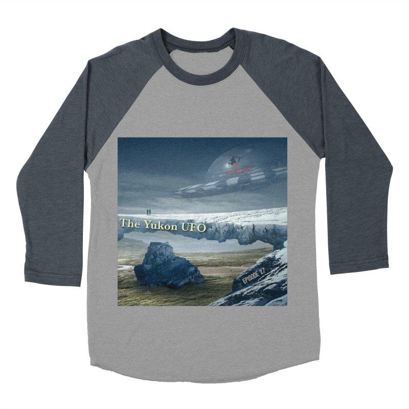 The Yukon UFO Women's Baseball Triblend Longsleeve T-Shirt by The Nothing Canada Souvenir Shop