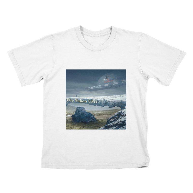 The Yukon UFO Kids T-Shirt by The Nothing Canada Souvenir Shop