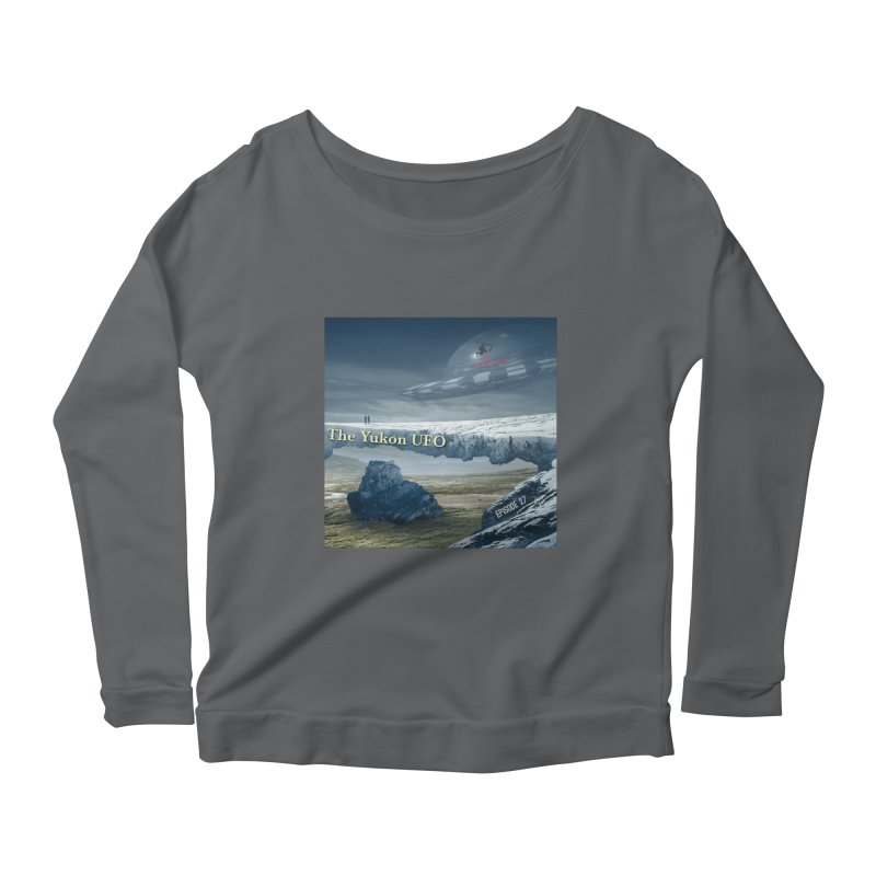 The Yukon UFO Women's Scoop Neck Longsleeve T-Shirt by The Nothing Canada Souvenir Shop