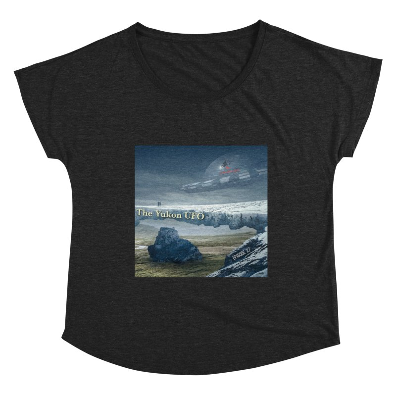 The Yukon UFO Women's Dolman Scoop Neck by The Nothing Canada Souvenir Shop
