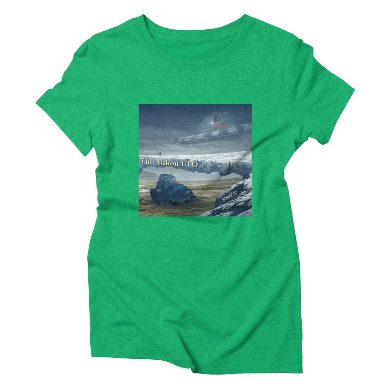 The Yukon UFO Women's Triblend T-Shirt by The Nothing Canada Souvenir Shop