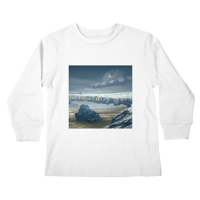 The Yukon UFO Kids Longsleeve T-Shirt by The Nothing Canada Souvenir Shop