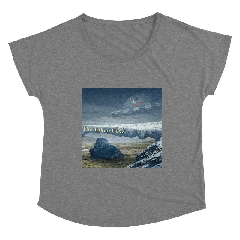 The Yukon UFO Women's Scoop Neck by The Nothing Canada Souvenir Shop