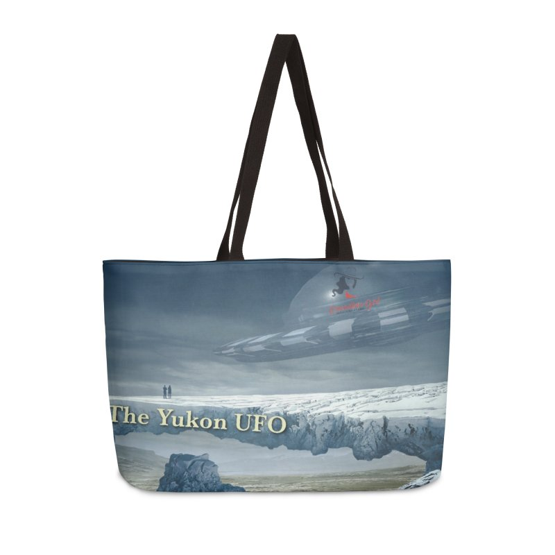 The Yukon UFO Accessories Weekender Bag Bag by The Nothing Canada Souvenir Shop