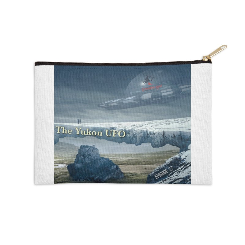 The Yukon UFO Accessories Zip Pouch by The Nothing Canada Souvenir Shop
