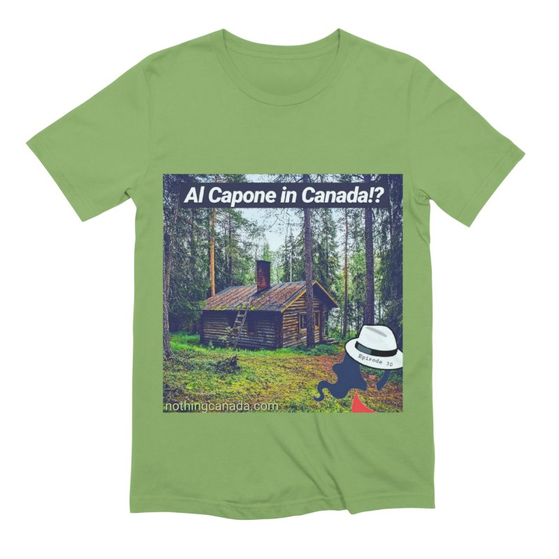 Al Capone in Canada!? Men's Extra Soft T-Shirt by The Nothing Canada Souvenir Shop