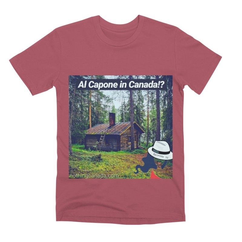 Al Capone in Canada!? Men's Premium T-Shirt by The Nothing Canada Souvenir Shop