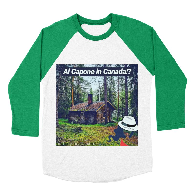 Al Capone in Canada!? Women's Baseball Triblend Longsleeve T-Shirt by The Nothing Canada Souvenir Shop