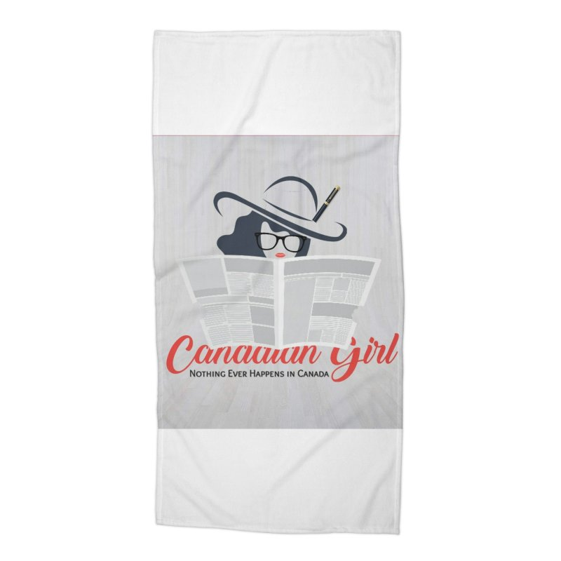 Women in Writing Accessories Beach Towel by The Nothing Canada Souvenir Shop