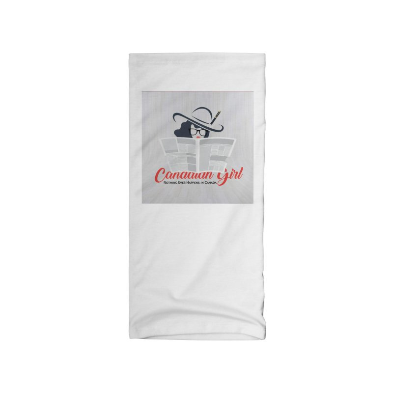 Women in Writing Accessories Neck Gaiter by The Nothing Canada Souvenir Shop