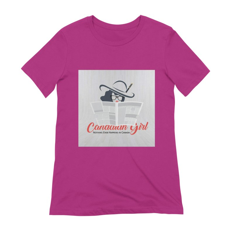 Women in Writing Women's Extra Soft T-Shirt by The Nothing Canada Souvenir Shop