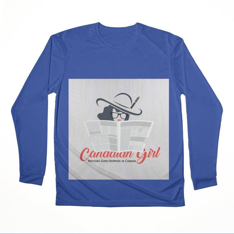 Women in Writing Men's Performance Longsleeve T-Shirt by The Nothing Canada Souvenir Shop