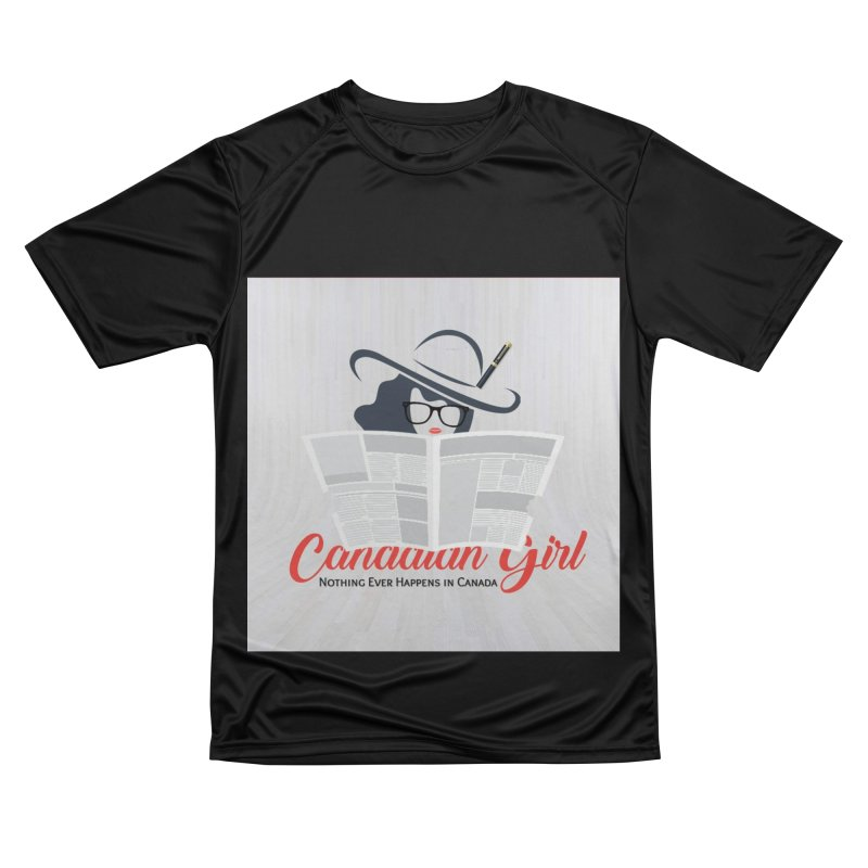 Women in Writing Men's Performance T-Shirt by The Nothing Canada Souvenir Shop