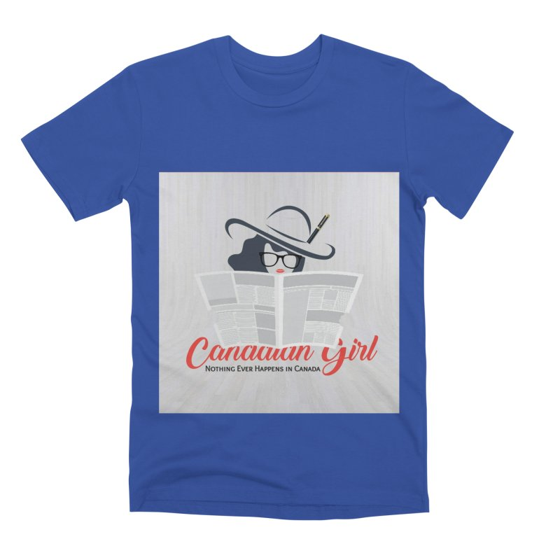 Women in Writing Men's Premium T-Shirt by The Nothing Canada Souvenir Shop