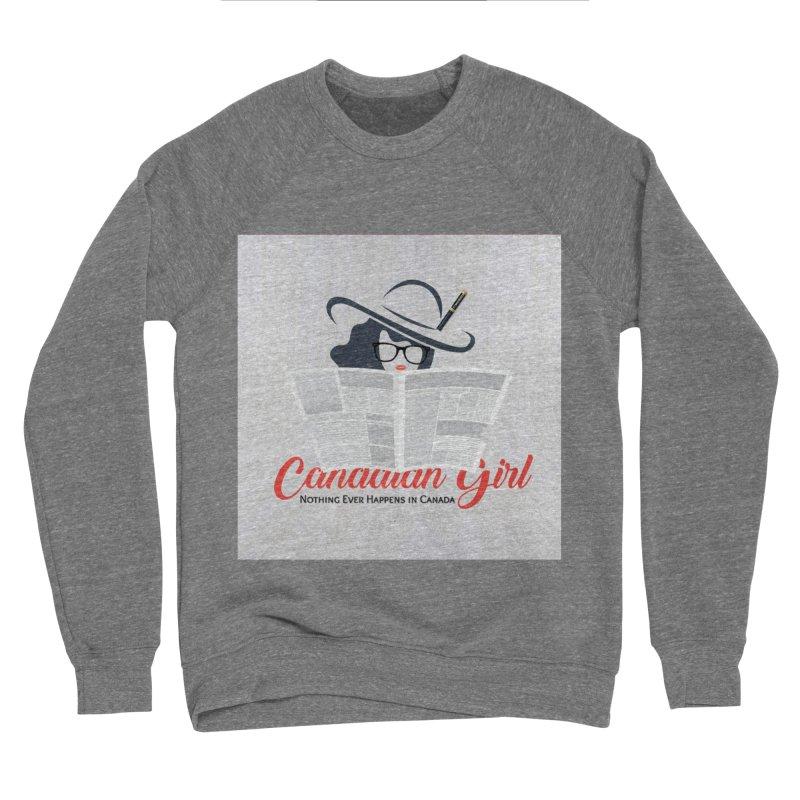 Women in Writing Women's Sponge Fleece Sweatshirt by The Nothing Canada Souvenir Shop