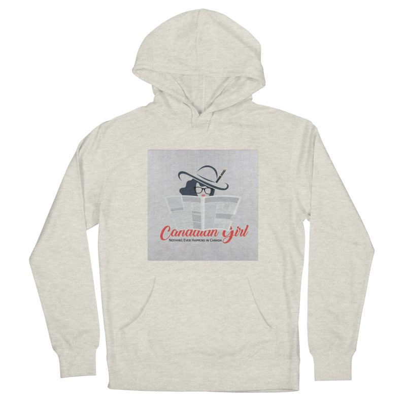 Women in Writing Men's French Terry Pullover Hoody by The Nothing Canada Souvenir Shop