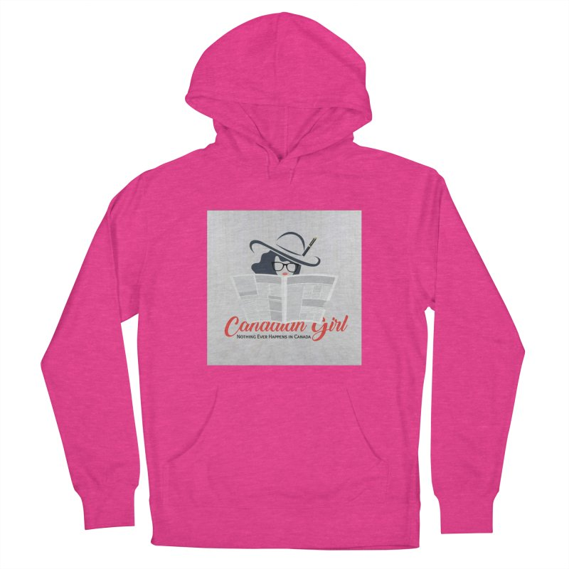Women in Writing Women's French Terry Pullover Hoody by The Nothing Canada Souvenir Shop
