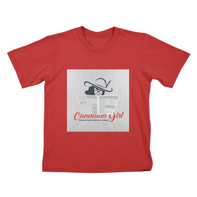 Women in Writing Kids T-Shirt by The Nothing Canada Souvenir Shop