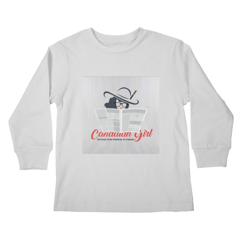 Women in Writing Kids Longsleeve T-Shirt by The Nothing Canada Souvenir Shop