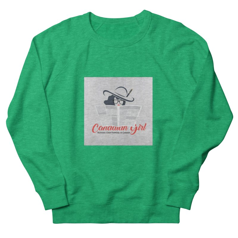 Women in Writing Women's Sweatshirt by The Nothing Canada Souvenir Shop
