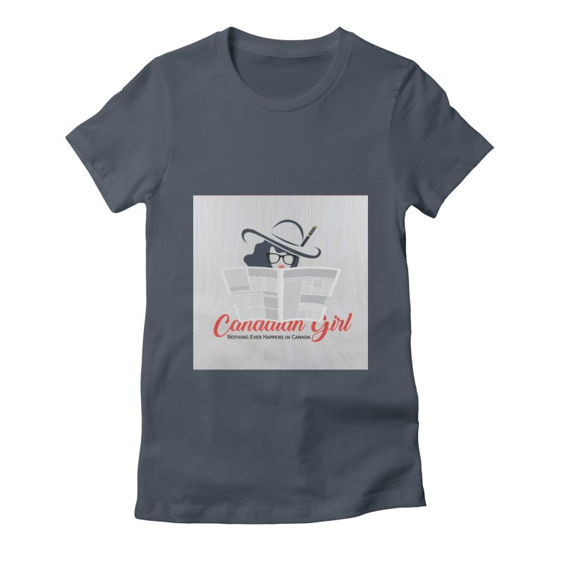 Women in Writing Women's T-Shirt by The Nothing Canada Souvenir Shop
